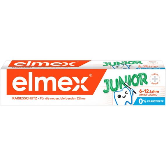Зубная паста от 6 до 12 лет elmex, 75мл (Германия) -