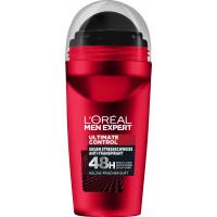 Шариковый антиперспирант Полный контроль L'ORÉAL Men Expert, 50 ml (Германия)
