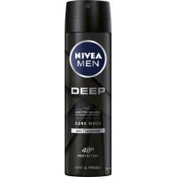 Дезодорант спрей Глубокий NIVEA MEN, 150 ml (Германия)