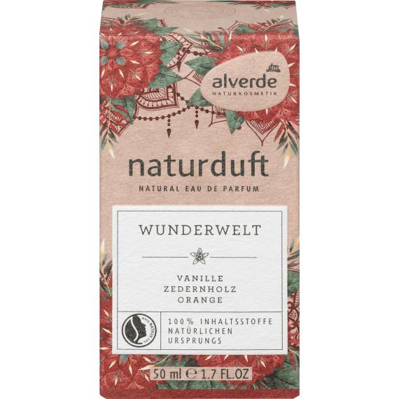 Парфуми Чудовий Світ alverde, 50 ml (Німеччина) -