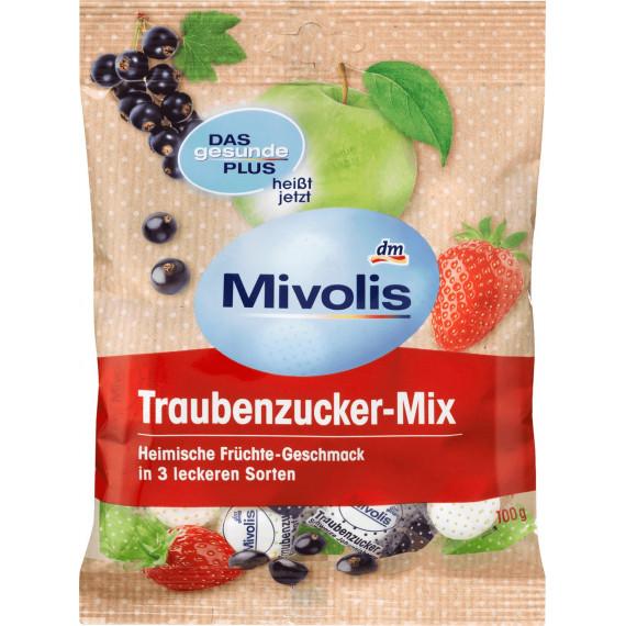 Декстроза Фруктовый микс Mivolis, 100 g (Германия) -