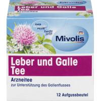 Лікарський чай Печінка та Жовч Mivolis, 21 g (Німеччина)