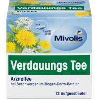 Лікарський чай, трав'яний чай (12х1.75г) Mivolis, 21г (Німеччина)