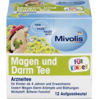 Детский чай Желудочно-кишечный Mivolis, (12x2,2g), 26,4 g (Германия)