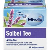 Лекарственный чай, чай шалфея (12х1,5г) Mivolis, 18г (Германия)