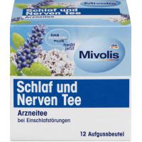 Успокаивающий травяной чай (12x1,5g) Mivolis, 18 g (Германия)