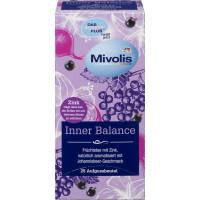 Чай с внутренним балансом с цинком и вкусом смородины Mivolis, 50 g (Германия)