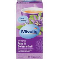 Трав'яний чай, Спокій і Безтурботність (25х2г) Mivolis, 50 g (Німеччина)