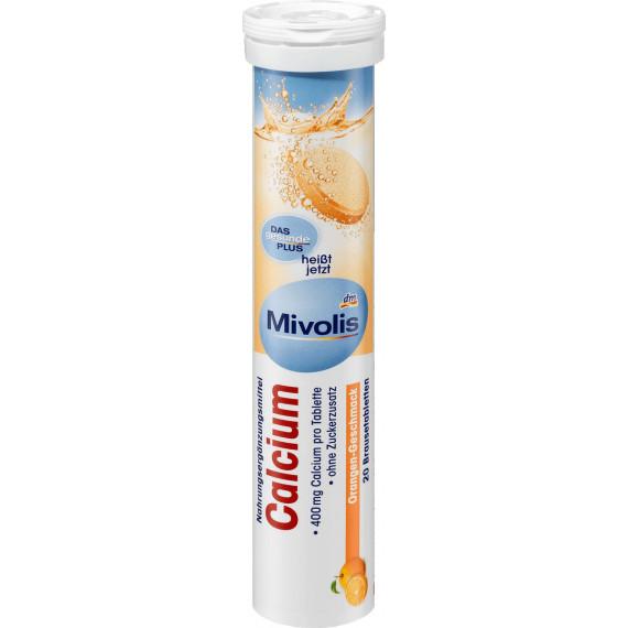 Кальций шипучие таблетки Mivolis, 20 шт. (Германия) -