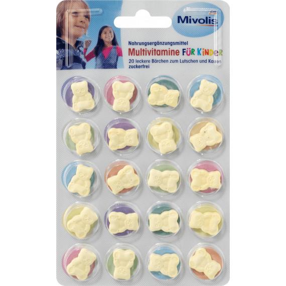 Поливитамины для детей Mivolis, 20 St (Германия) -