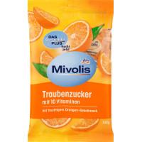 Декстроза Апельсин з 10 вітамінами Mivolis, 100 g (Німеччина)