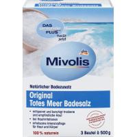 Оригінальна сіль Мервого моря для ванни Mivolis, 1,5 kg (Німеччина)