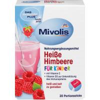 Горячий напиток Малина для детей, порционные палочки 20 штук, 100 g (Германия)