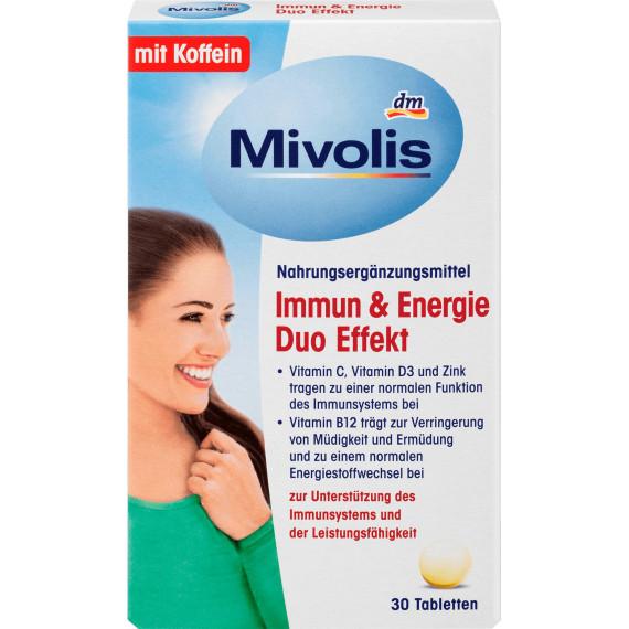 Иммунитет и Энергия Двойной Эффект Mivolis, 30 шт (Германия) -
