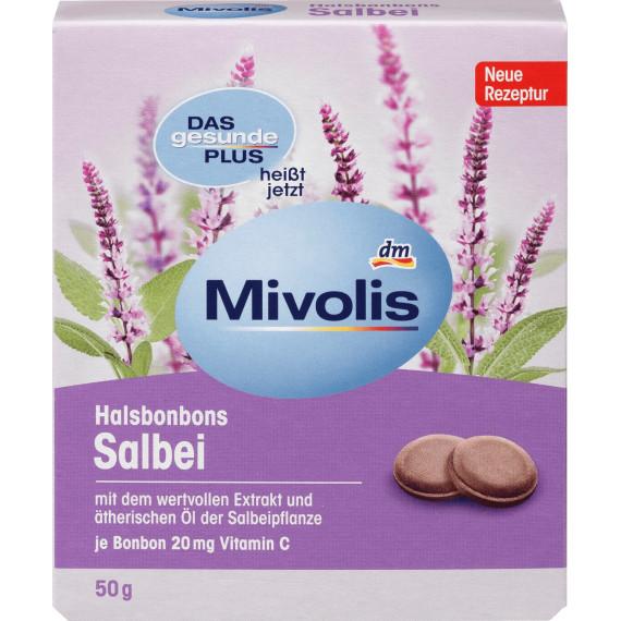 Конфеты Шалфей Mivolis, 50 g (Германия) -
