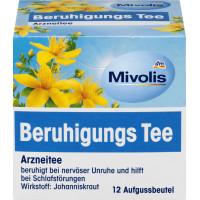 Чай лекарственный, успокаивающий чай Mivolis, 24 g (Германия)
