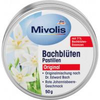 Пастилки квітки Баха Mivolis, 50 g (Німеччина)