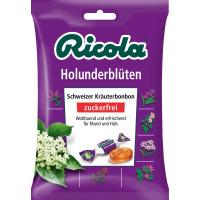 Цукерки, Бузина, без цукру Ricola, 75 g (Німеччина)