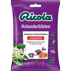 Конфеты, Бузина, без сахара Ricola, 75 g (Германия)