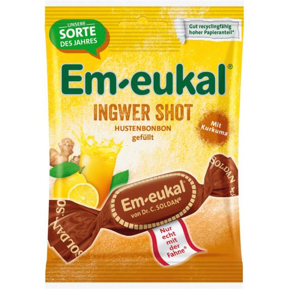 Конфеты, имбирь Em-eukal, 75 г (Германия) -