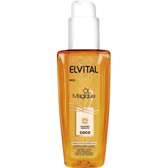 Масло для волос Кокос Elvital, 90 ml. (Германия) -