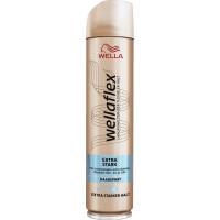 Лак для волос Очень сильная фиксация wellaflex, 250 мл (Германия)
