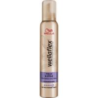 Пена для волос объем и очень сильная фиксация wellaflex, 200 мл. (Германия)