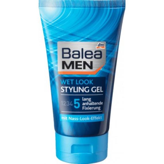 Гель для волосся Мокрий вигляд Balea MEN, 150 ml (Німеччина) -