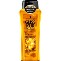 Шампунь с питательным маслом Gliss Kur, 300 ml (Германия)