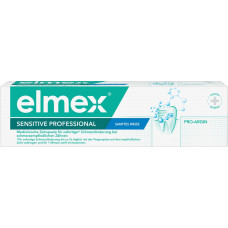 Зубная паста профессиональная чувствительная, мягкое отбеливание elmex, 75 мл. (Германия)