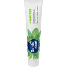 Зубная паста с лечебными травами DONTODENT, 125 мл (Германия)