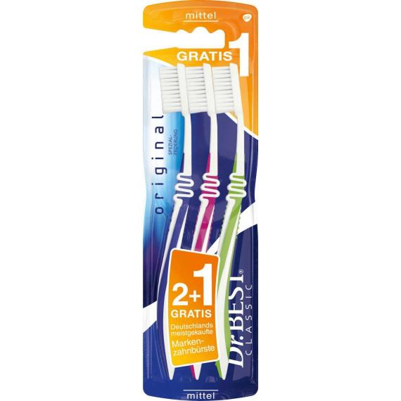 Зубные щетки оригинальные Dr. Best, 2 St (Германия) -