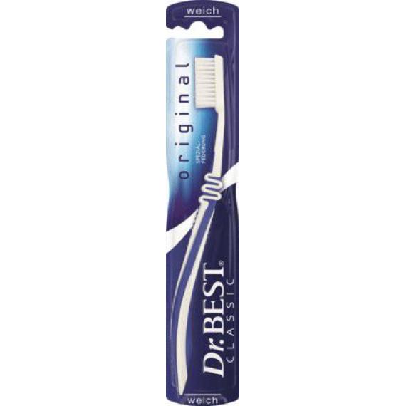 Зубная щетка оригинальная мягкая Dr. Best, 1 St (Германия) -