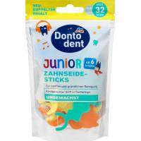 Зубні нитки дитячі DONTODENT, 32 шт. (Німеччина)