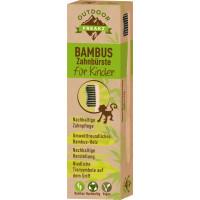 Зубна щітка дитяча бамбукова Outdoor Freakz, 1 шт (Німеччина)