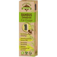 Зубная щетка детская бамбуковая Outdoor Freakz, 1 шт (Германия)