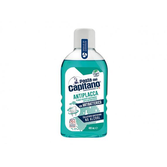 Ополіскувач для ротової порожнини Антибактеріальний Del Capitano, 400 ml -