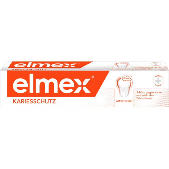 Защитная зубная паста от кариеса elmex, 75мл (Германия) -