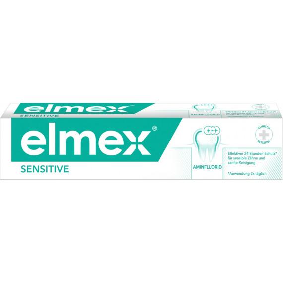 Зубна паста для чутливих зубів elmex, 75мл (Німеччина) -