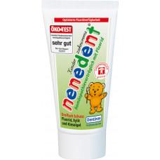 Зубная паста для детей, совместимая с гомеопатией nenedent, 50 мл (Германия)